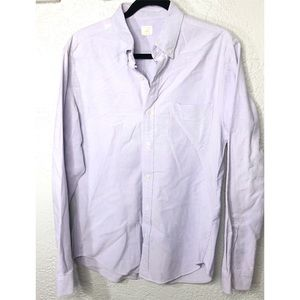 J.Crew vintage oxford tailored button down M